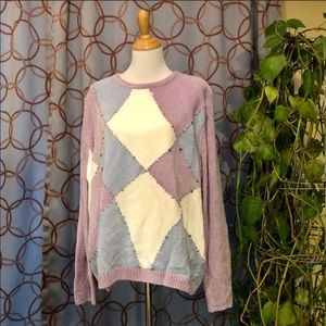 Alfred Dunner Crew Neck Chenille Sweater 3X NWT